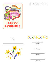 card birthday card template for kids birthday card template for kids photo medium size