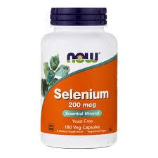 Купить Now Foods <b>Selenium 200</b> mcg 180 vcaps - цена Нау Фудс ...
