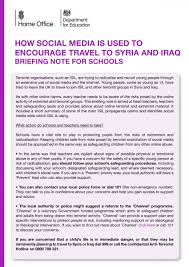 safeguarding for students the park community school how social media is used to encourage travel to syria and 1 jpg