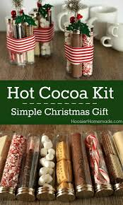 Simple <b>Christmas Gift</b>: Hot Cocoa Kit | Easy <b>diy christmas gifts</b> ...