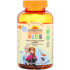 <b>Complete Multivitamin Gummies</b>, <b>Disney</b> Frozen II, Strawberry ...