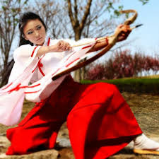 Kikyou Cosplay Costumes <b>Japanese Anime Inuyasha</b> Clothing ...