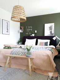 bedroom scandinavian style lauri bros scandinavian style bedroom with dark green wall we examine the three k