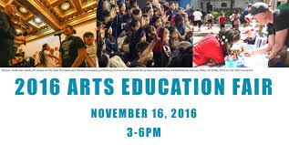 philadelphia arts education fair tickets wed nov  arts ed fair header
