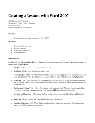 resume creating tk resume creating