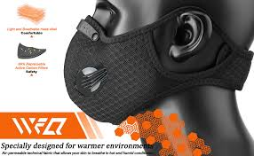 WFQ Sport <b>Riding Bicycle</b> Mask Reusable <b>Activated Carbon</b> ...