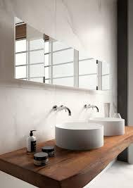 stone timber bathroom polished