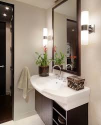 view in gallery sleek and lovely sconce lights next to the mirror in the bath bedroom sconce lighting
