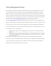 time management essay assignment english composition  homework  time management essay assignment english composition