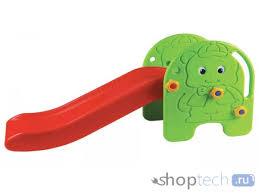 Детская <b>горка Edu-Play Малыш</b> 94.5X28X48 WJ-307 за 3590.00 р ...