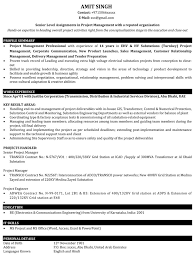 download project manager resume samples resume samples for project managers
