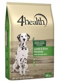 4health with Wholesome Grains <b>Lamb</b> & Rice Formula <b>Adult Dog</b> ...