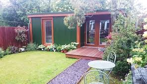 compact one bed garden annexe with shower toilet and kitchen price circa 45k big garden office ian