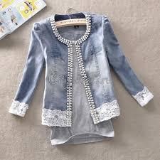 <b>Джинсовая куртка</b> с кружевом | Джинсы | <b>Джинсовый</b> пиджак ...