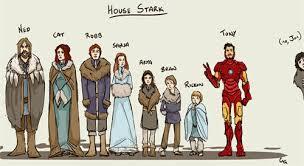 House Stark | Robert Downey Jr. | Know Your Meme via Relatably.com