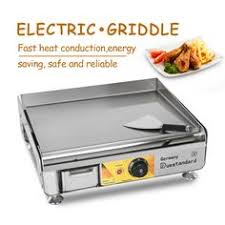 <b>ITOP Commercial</b> 2300W ELectric Griddle Stainless Steel <b>Hot</b> Plate ...