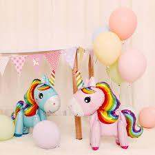 Mini stand <b>Unicorn</b> Balloon partyWedding Birthday Party Decor Toys ...