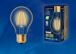 <b>Лампа</b> светодиодная 6Вт <b>LED</b>-<b>A60</b>-<b>6W</b>/<b>GOLDEN</b>/<b>E27 GLV21GO</b> ...