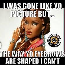 Brows on fleek on Pinterest | Eyebrows, Brows and Eyebrow Game via Relatably.com