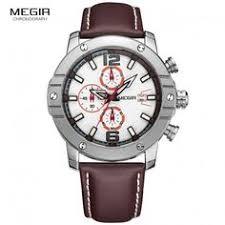 <b>WISHDOIT</b> Mens <b>Luxury</b> Sport Chronograph Watches Waterproof ...