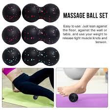 【phdith】<b>Peanut Ball Fascia</b> Ball <b>Set</b> Training Deep Tissue ...