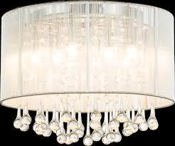 Ceiling Light metal chrome, 8xG9 LED | <b>Globo</b> Lighting