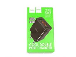 Сетевое <b>зарядное устройство Hoco C25A</b> LED