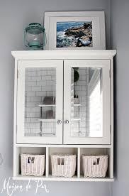 White Bathroom Units Bathroom White Modern Minimalist Above The Toilet Cabinet Design