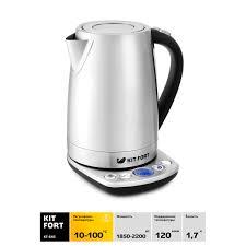 <b>Электрический чайник Kitfort</b> КТ-<b>645</b> в Москве – купить по низкой ...
