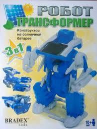 "<b>Конструктор Bradex</b> ""<b>Робот</b>-трансформер"", на солнечной ..."