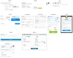 the anatomy of a credit card payment form gabriel tomescu credit card forms from various popular websites and apps