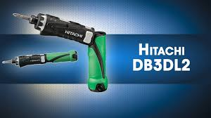 Обзор аккумуляторной <b>отвертки</b> Hitachi - <b>DB3DL2</b> - YouTube
