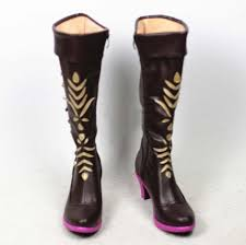 Customize <b>Frozen</b> II <b>Princess Anna Cosplay</b> Boots - AliExpress