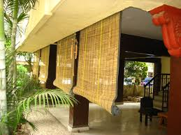 door valance ideas bamboo