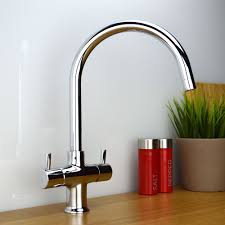 White Monobloc Kitchen Taps Chrome Amp Brushed Steel Mono Bloc Mixer Kitchen Sink Taps Multi