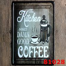 home decor plate x: decor pub tavern garage tin sheet metal sign coffee vintage picture  x cm cafe store club bar wall decor plaque poster plate