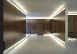 stunning room interior design with led lighting ideas in ceiling as well dark brown wooden wall interior design lighting ideas