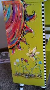 book case i painted for client carolyns funky furniture gallery carolyn funky furniture