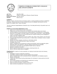 computer data entry resume sample eager world it