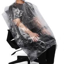 50 шт одноразовый фартук для окраски волос, водостойкая ...
