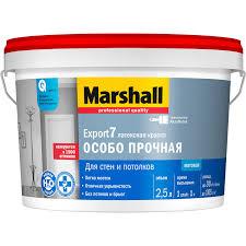 <b>Краска Marshall EXPORT</b> - <b>7</b> 2.5 л купить по цене 829 руб. в ОБИ
