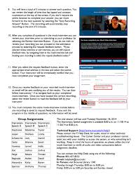 mock interview instructions public speaking mock interview student instructions page 2