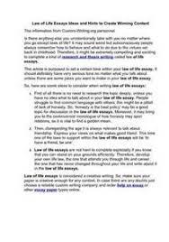 laws of life essay topics   dailynewsreport   web fc  comlaws of life essay topics