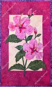 Hibiscus | <b>Hawaiian</b> quilt patterns, <b>Flower</b> quilt patterns, <b>Flower</b> ...