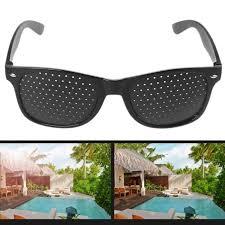 Anti-fatigue Pinhole Glasses <b>Vision</b> Care Correction <b>Enhancer</b> ...