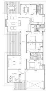 images about build on Pinterest   Floor Plans  House plans    Modern house to deep and narrow lot  Australian influences  three bedrooms  covered terrace