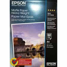 41256 Матовая <b>фотобумага EPSON Matte Paper</b>-<b>Heavyweight</b> A4 ...