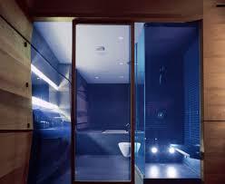 modern bathroom decor ideas blue