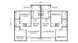 Duplex Floor Plans Duplex House Plans   Garage  plan for duplex