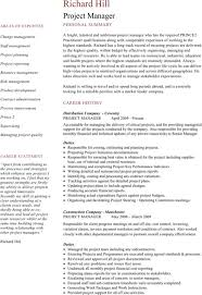mechanical engineer cv template for excel pdf and word project manager cv template